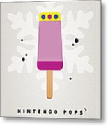 My Nintendo Ice Pop - Princess Peach Metal Print by Chungkong Art