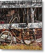 My Old Bike Metal Print