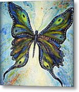 My Peacock Butterfly Metal Print