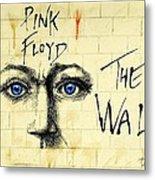 My Pink Floyd Wall Metal Print by Todd Spaur