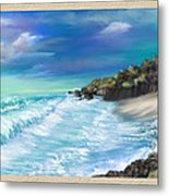 My Private Ocean Metal Print