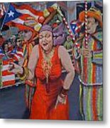 My Puerto Rican Parade Metal Print
