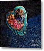 My Rough Imperfect Heart Metal Print