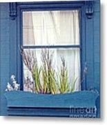 My San Francisco Window Garden Metal Print