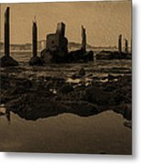 My Sea Of Ruins IIi Metal Print by Marco Oliveira