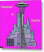 My Sleepless In Seattle Movie Poster Metal Print