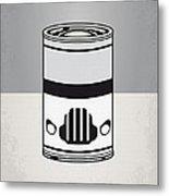 My Star Warhols Stormtrooper Minimal Can Poster Metal Print
