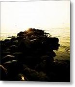 My Stepping Stones 2 Metal Print by BandC  Photography