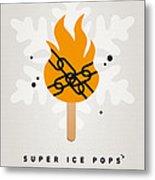 My Superhero Ice Pop - Ghost Rider Metal Print