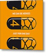 My Superhero Pills - The Thing Metal Print