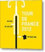 My Tour De France 2012 Minimal Poster Metal Print by Chungkong Art