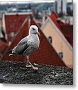 My Town My View Metal Print