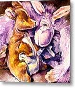 My Toys - Palette Knife Oil Painting On Canvas By Leonid Afremov Metal Print