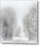 My Way Home Metal Print