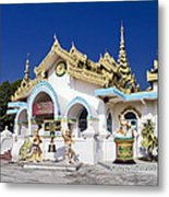 Myanmar Buddhist Temple Metal Print