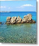 Mykonos Blue Aegean Metal Print