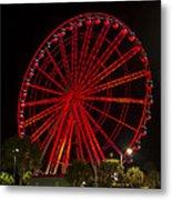 Myrtle Beach Sky Wheel Metal Print