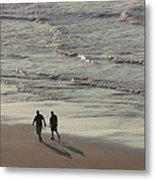 Myrtle Beach Walking Buddies Metal Print
