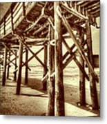 Myrtle Pier  Metal Print