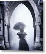 Mysterious Archway Metal Print by Joana Kruse