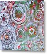 Mysterious Circles 3 Metal Print
