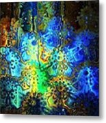 Mysterious Icons Metal Print