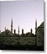 Mysterious Istanbul Metal Print