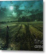 Mysterious Shadows Metal Print