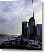 Mystery Of The Missing P Aka Pier 17 Metal Print