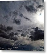 Mystery Of The Sky Metal Print by Glenn McCarthy Art and Photography