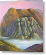 Mystic Bluffs Metal Print