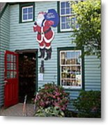 Mystic Christmas Shop - Connecticut Metal Print
