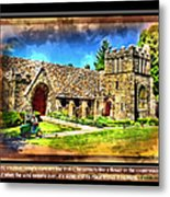 Mystic Church - Featured In Comfortable Art Group Metal Print