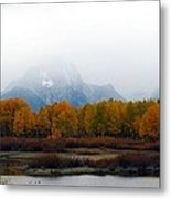 Mystic Grand Teton  Metal Print