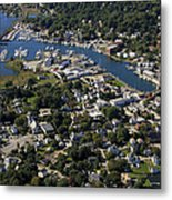 Mystic, Maine Metal Print by Dave Cleaveland