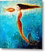 Mystic Mermaid II Metal Print