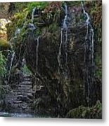 Mystic Waterfall Metal Print