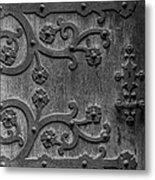 Mystical Door Metal Print