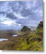 Mystical Landscape On Skye Metal Print