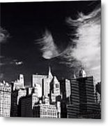 Mystical Manhattan Morning Metal Print