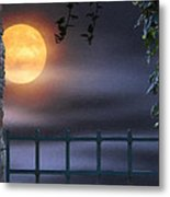 Mystical Moon Metal Print by Kenny Francis