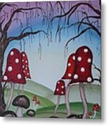 Mysticle Forest Metal Print