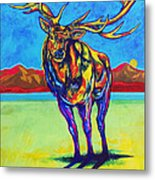 Mythical Elk Metal Print