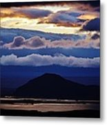 Myvatn Sunset Metal Print