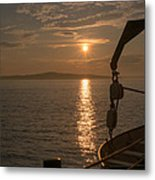 Sunset On Bar Harbor Metal Print by Pro Shutterblade