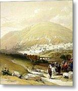 Nablus Old Shechem Metal Print