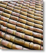 Nafplio Roof Tiles Metal Print by David Waldo