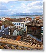 Nafplio Rooftops Metal Print by David Waldo