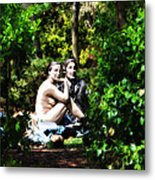 Naked Lunch Metal Print