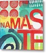 Namaste- Contemporary Abstract Art Metal Print